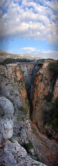 Aradena gorge, Sfakia, Crete Island, Greece | by Mazonakis George