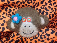 Chinese New Year,Year of the monkey felted wool monkey bag/monkey/monkey bag Felted Wool, Wool Felt, Monkey Bag, Year Of The Monkey, Chinese New Year, Unique Jewelry, Handmade Gifts, Bags, Etsy
