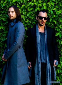 Thirty Seconds To Mars.- Jared Leto, Shannon Leto and Tomo Milicevic.- Photoshoot by Chadwick Tyler.- 2013 #LoveLustFaithDreams