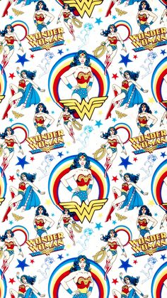 Imagen de wonder woman, background, and pattern
