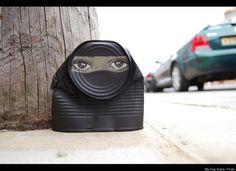 """Street Artist Uses Forgotten Trash For """"Can Men"""" Series"""