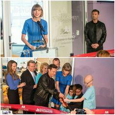 The launching of Ryan Seacrest's studio in children hospital in Nashville (2016)