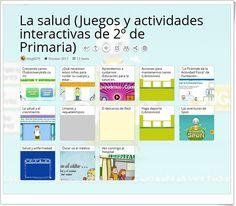 """""""13 Juegos y actividades para el estudio de LA SALUD en 2º de Primaria"""" April 7, Science Area, Interactive Activities, Teaching Resources, Learning"""