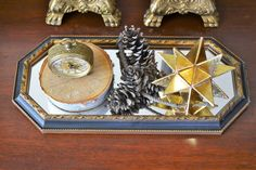 A personal favorite from my Etsy shop https://www.etsy.com/listing/263617679/vintage-octagon-hanging-mirror-syroco