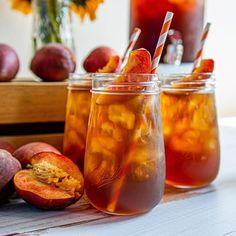 Photo shared by Ball Canning on September 09, 2020 tagging @mayterscott. Shower Party, Baby Shower Parties, Mason Jar Drinks, Iced Tea, Fun Drinks, Brewing, Celebrations, September, Party Ideas