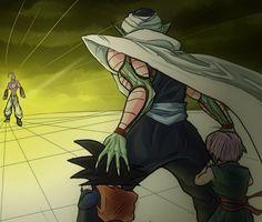 Dragon Ball Z   Majin Buu   Piccolo   Goten   Trunks  Anime