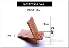 Nature Handcrafted wooden Bracket holder for tablet pc ipad wood Base Universal tablet stand Holder for ipad