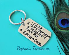 Father's Day-Daddy Gift Personalized Hand by PeytonsTreasures