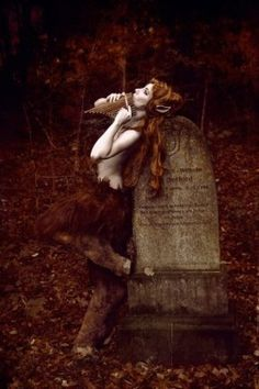 ≍ Nature's Fairy Nymphs ≍ magical elves, sprites, pixies and winged woodland faeries - Autumn song of a faun ~ MrsHyde Fantasy Story, Fantasy World, Fantasy Art, Fantasy Makeup, Magical Creatures, Fantasy Creatures, Mythological Creatures, Woodland Creatures, Kobold