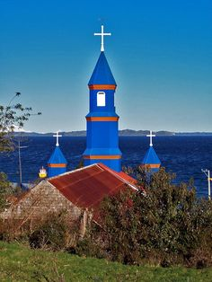 Chile Save Our Souls, Iglesias, Temple, Mosques, Paths, Temples, Buddhist Temple