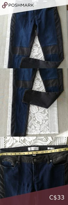 Kenneth Cole reaction skinny jeans blue patches Kenneth cole jeans blue patches on black . Grey Skinny Jeans, Dark Wash Jeans, Distressed Skinny Jeans, Black Skinnies, Light Pink Jeans, White Flowy Top, Juniors Jeans, True Religion Jeans, Blue Denim