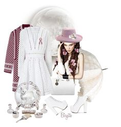"""""""The White Plus"""" by ragnhild-bergan ❤ liked on Polyvore featuring Tory Burch, Scala, Zimmermann, contest, outfit and white"""