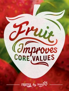 Fruit Improves Core Values :) Get some yummy Yoplait Fruitfuls for yourself in Strawberry by clicking here for a $.30 cent off coupon. #sp