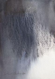 "artpropelled: "" Watercolor x 20 cm from Muriel Buthier-Chartrain / 2015 "" Abstract Watercolor, Watercolor And Ink, Watercolor Illustration, Watercolor Paintings, Abstract Art, Watercolours, Collage Landscape, Abstract Landscape, Abstract Drawings"
