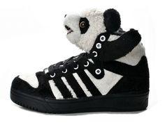 best service 14eab 87b86 アディダス Adidas ObyO ジェレミースコット JS パンダ 303 Pasteles, Zapatos Negros Adidas,  Zapatos