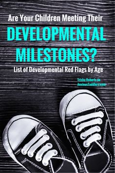 Do you worry about your child's developmental milestones? Should they be talking more? Walking? Drawing shapes? Learn the developmental red flags by age.