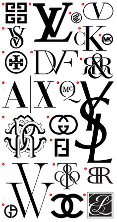 Fashion Monograms | @Issue Journal of Business & Design