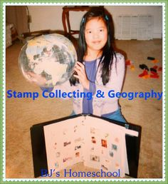 BJ's Homeschool - Our Journey Towards College: Stamp Collecting for Kids