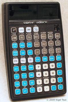 Commodore N-60 navigation calculator (1978) #retrocalculators #retrotech