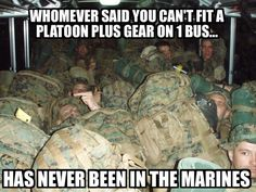 You can get a whole other layer of Marines on top of that one (Via Marine Corps Memes).