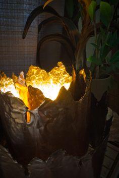 DIY Brutalist-Inspired Sculptural Table Lamp - Design Milk