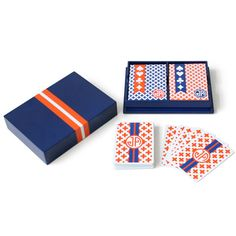 For the Card Shark: Jonathan Adler Playing Cards. Box Design, Game Design, Cool Deck Of Cards, Packaging Design, Branding Design, Playing Card Box, Jonathan Adler, Japanese Design, Monogram Gifts