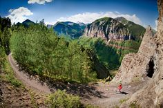 Telluride, Colorado http://www.runnersworld.com/rave-run/rave-runs-beautiful-places-to-run/slide/72