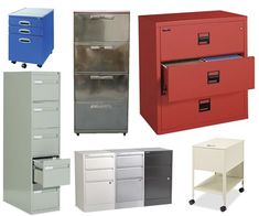 Apartment Therapy did a great round-up of attractive filing cabinets. Check it out.