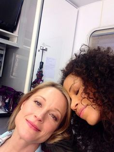"""Sherri Saum And Terri Polo Are Even More Adorable Off Set Of """"The Fosters"""""""