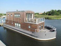 strange houseboat