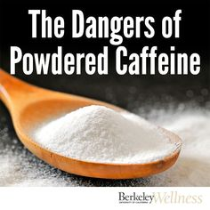 The @usfda recently warned against consumption of pure caffeine, listing off some pretty scary side effects, including seizures, erratic heartbeat, and even death from an overdose. Best just to #avoid completely. http://www.berkeleywellness.com/supplements/other-supplements/article/safety-alert-avoid-powdered-pure-caffeine/?ap=2012 #health #food #drug #safety