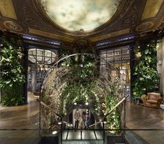 The historic Paris Replay flagship store in rue Etienne Marcel, an early 19th century former ceramics shop has reopened its door after a complete makeover.