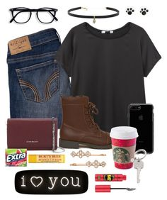 """I LOVE YOU"" by ecarri on Polyvore featuring Hollister Co., MANGO, Givenchy, Carbon & Hyde, Henri Bendel, Seletti, Paul Smith and Essence"