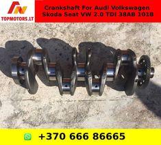 Crankshaft For Audi Volkswagen Skoda Seat VW 2.0 TDI 38AB 101B Volkswagen, Audi, Engine Rebuild, Engineering, Oil, Pump, Electrical Engineering, Architectural Engineering, Mechanical Engineering