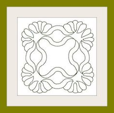Quilting motif for finishing that most special creation, a quilt! - Six designs created in three hoop sizes of and will give you continuous run stitch motif to intersperse with your piece Quilting Stencils, Longarm Quilting, Free Motion Quilting, Machine Quilting, Machine Embroidery, Knife Patterns, Quilt Patterns, Celtic Patterns, Stippling