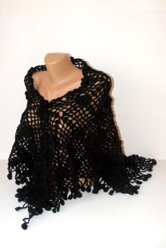 dark flowersReady to ShippingNew 2012 fashion crochet by seno, $75.00