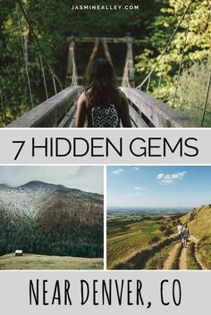 Hidden Gems Near Denver, CO Check out this list of seven hidden gems you've got to visit when you're in the Denver area!Check out this list of seven hidden gems you've got to visit when you're in the Denver area! Vail Colorado, Road Trip To Colorado, Colorado Mountains, Denver Colorado Hiking, Denver Rocky Mountains, Colorado Vacations, Train Rides In Colorado, Mt Evans Colorado, Colorado Springs Things To Do
