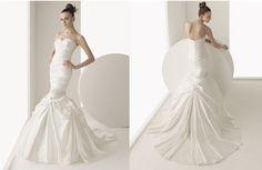 vestidos de novias sirena Luna Novia