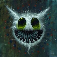 Jeff Soto is a Southern California-based artist who specializes in illustrations and murals. His work is a vivid and bold hybrid of Pop Surrealism and graf Monster Art, Arte Lowbrow, Alien Art, Cute Monsters, Pop Surrealism, Street Art Graffiti, Surreal Art, Dark Art, Cute Art