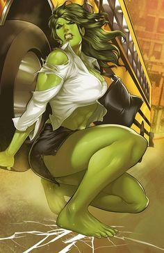 She-Hulk | Artist: Elizabeth Torque