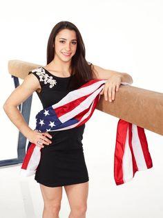 "Alexandra Rose ""Aly"" Raisman is an American gymnas Sport Gymnastics, Artistic Gymnastics, Olympic Gymnastics, Olympic Games, Gymnastics History, Gymnastics Problems, Gymnastics Quotes, Acrobatic Gymnastics, Nbc Olympics"