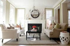 sophisticated sitting room
