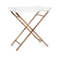 Clinton Acrylic Tray Table   Overstock.com Shopping - The Best Deals on Coffee…