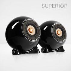 Stream and Dream - mo° sound Kugellautsprecher Open Baffle Speakers, Audio Speakers, Speaker Design, High End Audio, Dramatic Eyes, Loudspeaker, Audiophile, Kugel, Piggy Bank