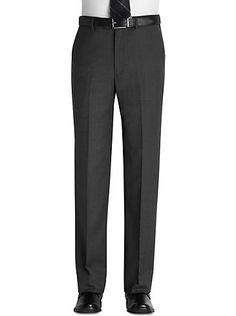 Pants & Shorts - Pronto Uomo Platinum Dress Slacks, Gray - Men's Wearhouse Wedding Outfit For Boys, Men Trousers, Dress Slacks, Designer Clothes For Men, Paradise, Man Shop, Gray, Shorts, Collection