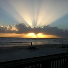 Sunrise New Smyrna Beach, Florida, Loved our vacation here many years ago.