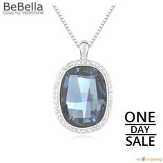 Today Only! 20% OFF this item.  Follow us on Pinterest to be the first to see our exciting Daily Deals. Today's Product: Blue Swarovsk Crystal Stone Necklace Buy now: https://small.bz/AAantbS #musthave #loveit #instacool #shop #shopping #onlineshopping #instashop #instagood #instafollow #photooftheday #picoftheday #love #OTstores #smallbiz #sale #dailydeal #dealoftheday #todayonly #instadaily