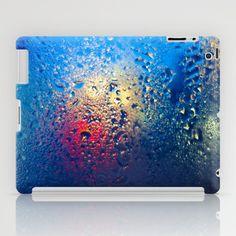 Condensation 10 - Lagoon | Blue iPad Case by Pete Edmunds - $60.00