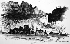 By Armand Cabrera     I thought I would post some drawings by artists I think are the best at landscape drawing. These drawings are more tha...