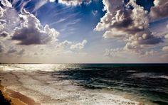 Where Sky and Waves Meet